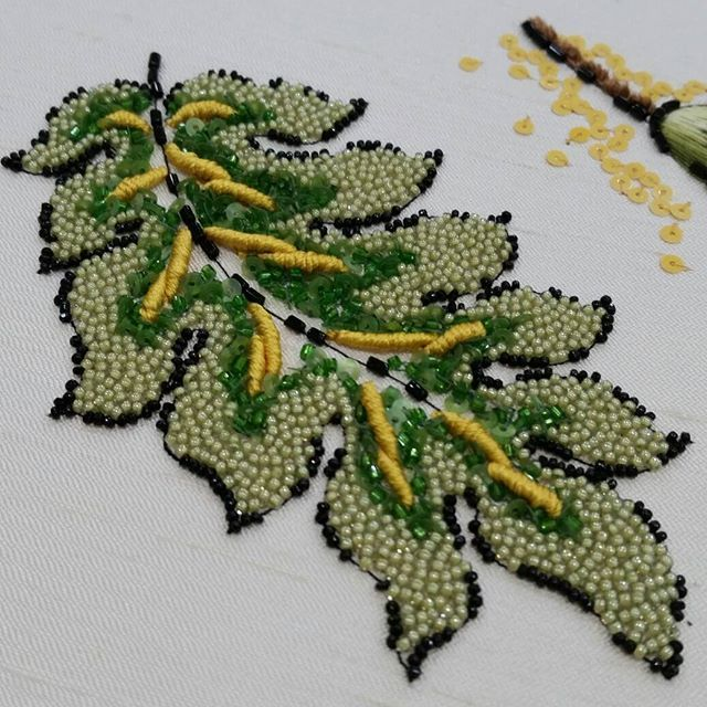 #hautecoture #handembroidered #embroidery #paillettes ♦F&I♦