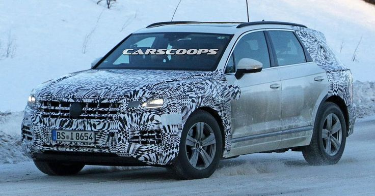 New Volkswagen Touareg To Be Unveiled Later This Year #Reports #VW