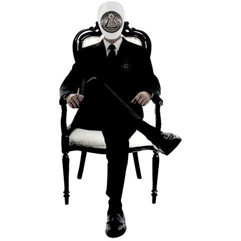 フリーメイソン・イルミナティ組織のトップ プロビデンスの目    世界を陰で操る フリーメイソンとイルミナティ。  イルミナティの目、ホルスの目とも呼ばる  胸元にフリーメイソンマーク、そしてプロビデンスの目のマスクをかぶったフリーメイソン・イルミナティの組織のトップをデザイン。  プロビデンスの目は「神が全てを見通す目」だと考えられており、フリーメイソンの象徴とされる。