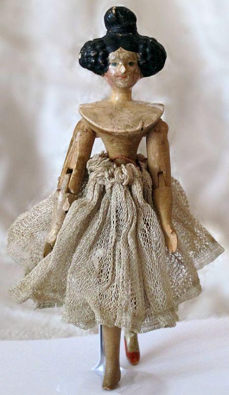 Rare Tiny Doll with Apollo Knot