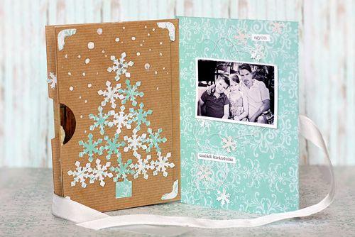 #diy #album #photoalbum #christmas #pentart