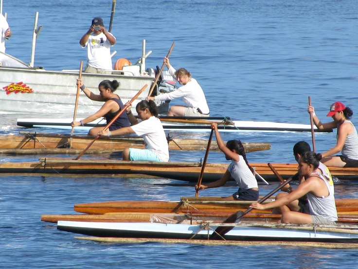 2012 Constitution Celebration Women Canoe Race, Alofi Bay Niue Island - this is annual event and coincide with the raft race, the next 2013 see you there...