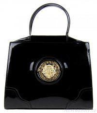 Černá luxusní kabelka do ruky 6242A Tom&Eva
