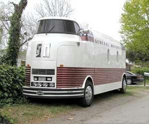 Very rare 75yearold GM Dreamliner motor home conversion. via Dandy RV Superstore