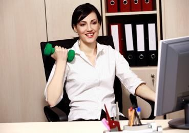 how to stay healthy while sitting at a desk