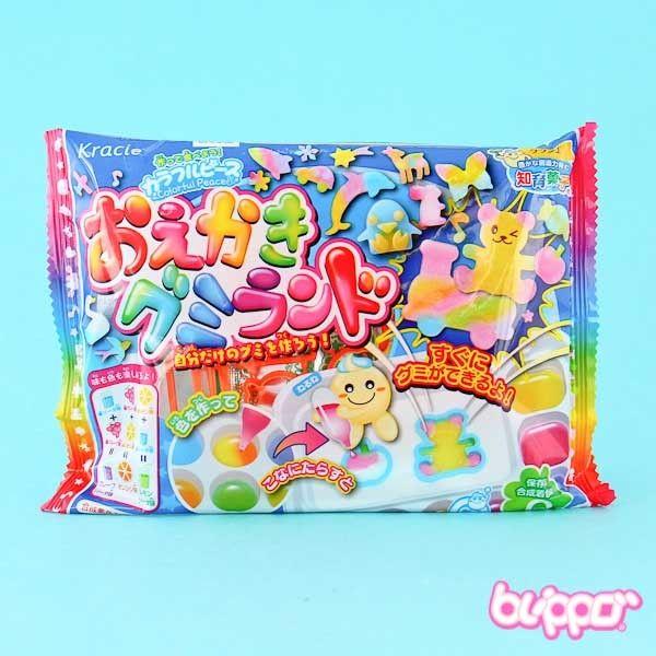 Buy Kracie Popin' Cookin' DIY Oekaki Gummy Land Kit | Free Shippi | Blippo Kawaii Shop