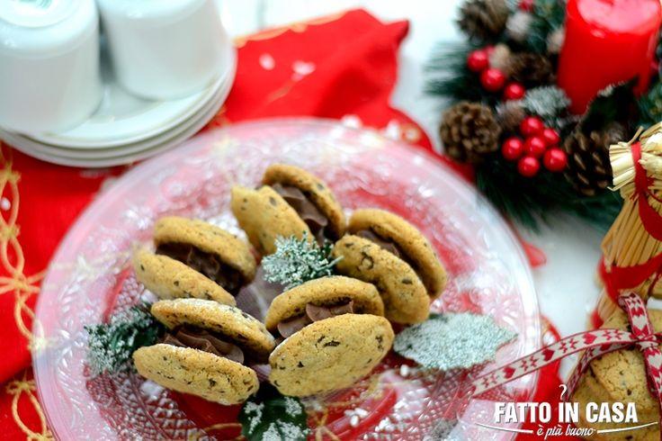 Fatto in casa è più buono!: Chocolate Chips Cookies Sandwich