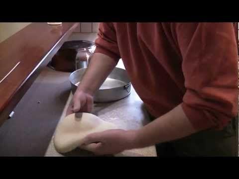 Πως θα κάνω ψωμί με προζύμι - YouTube