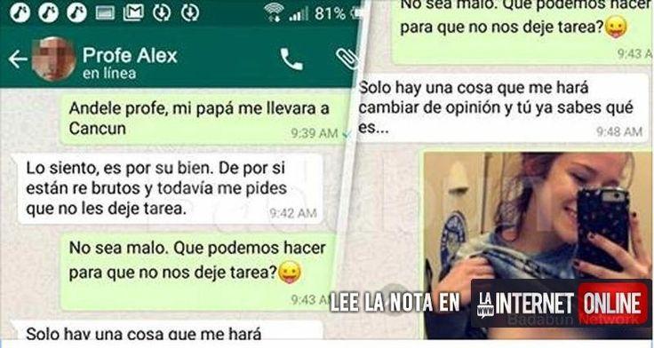 Un grupo de padres de la ciudad de Tijuana, México, se mostraron indignados y molestos ante las autoridades de un establecimiento educativo, luego de que un padre encontrara en el celular de su hija una conversación comprometedora con uno de sus maestros.