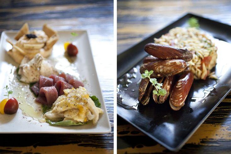 ΑΓΟΥΡΑ - Η καλύτερη (ίσως) ψαροταβέρνα της Αθήνας δεν σερβίρει τηγανητές πατάτες και δεν παίζει σκυλάδικα  Και έχει μαέστρο τον Νίκο Μιχαήλ, ο οποίος φτιάχνει ασυνήθιστα πιάτα θαλασσινών με τεχνικές ψησίματος που δεν είναι ευρέως γνωστές.