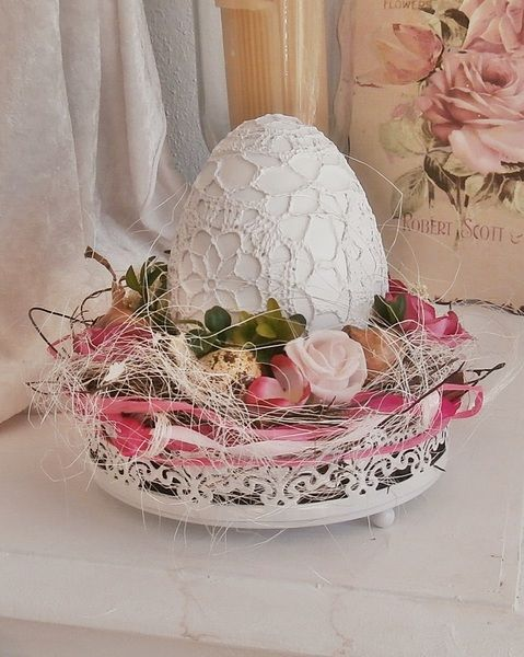 Ostergesteck    Ei im Glück  von *La Isla Sun*  auf DaWanda.com