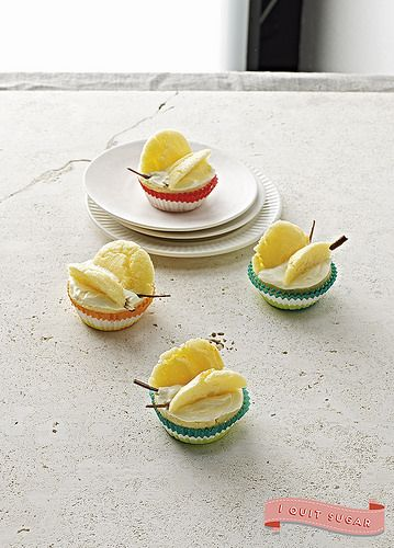 Butterfly Cupcakes from Sarah Wilson's best-selling cookbook, I Quit Sugar. Pre-order your copy today!