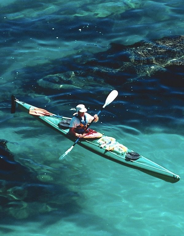 how to make a clear kayak