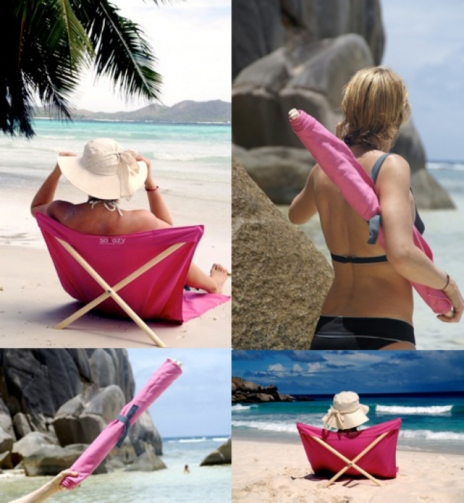 solazychairs beach chair genius