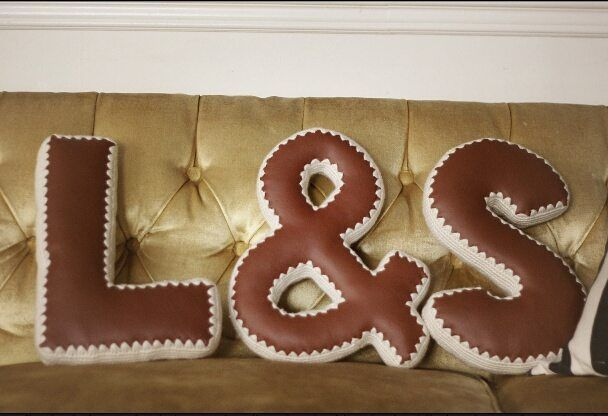 letter pillows #vegan #leather #knit #crochet #letterart #lettering #letterpillows #livingroom #bedroom #nursery #kidsroom