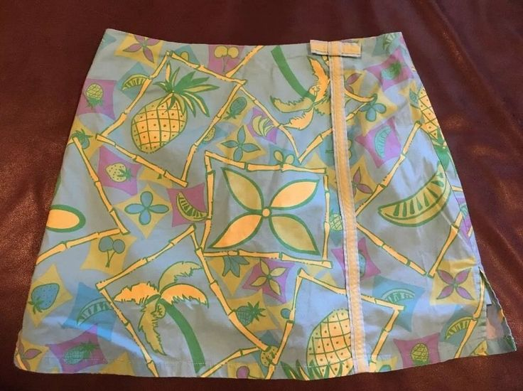 LILLY PULITZER Ladies Scooter Skirt  Skirt size 4 #LillyPulitzer #Mini