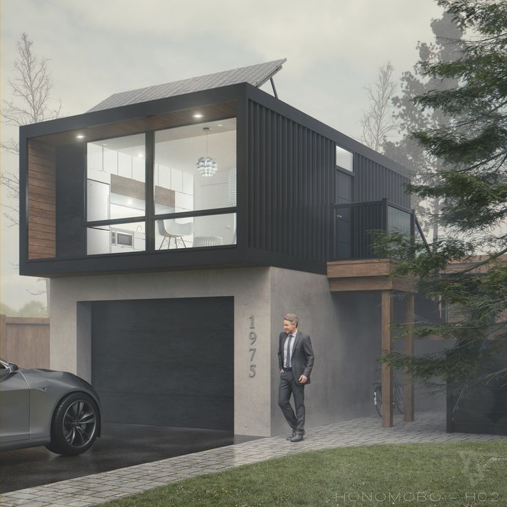 Modern Shipping Container House Plan Design: Pin By David Najera On Townhomes In 2019