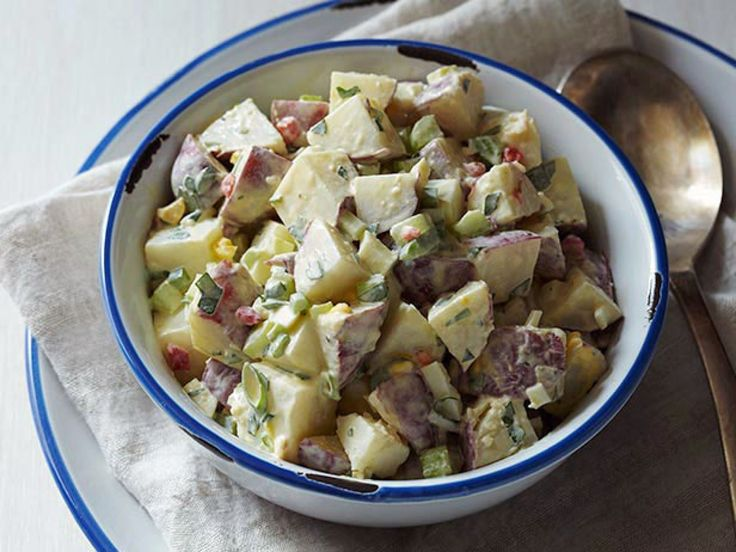 The Lady's Warm Potato Salad recipe from Paula Deen via Food Network