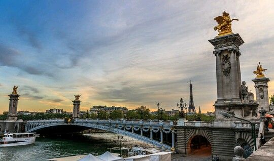 le pont Alexandre 3, Paris