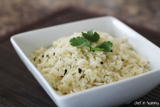 Amazing rice.  It was great in our open-faced burrito salads tonight.