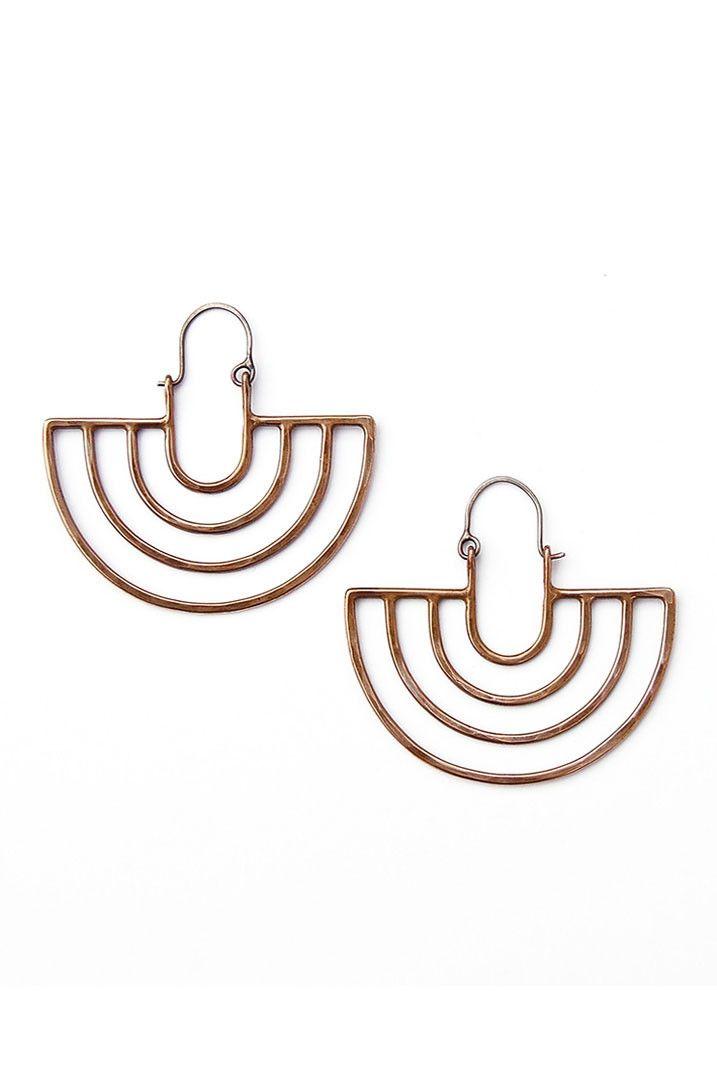 Porta Earrings from Koromiko via The Third Row