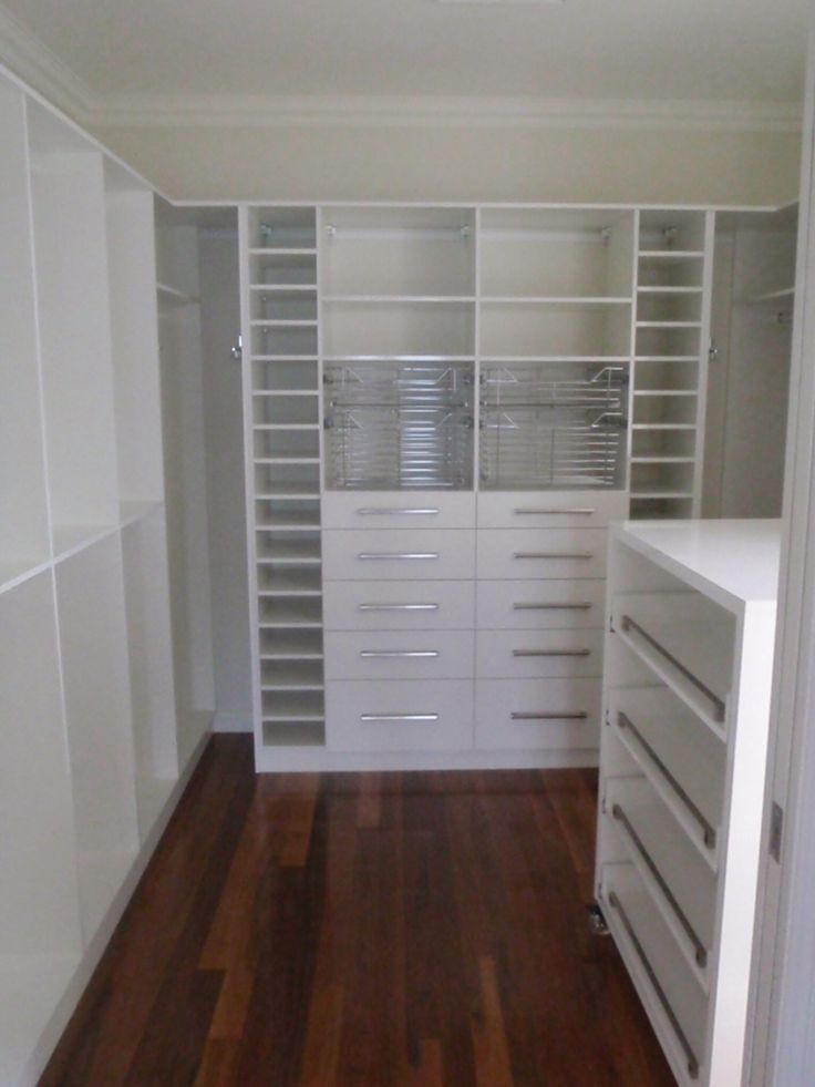 Lots of space for lots of clothes and shoes