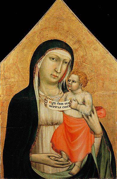 Lippo di Benivieni, Madonna col Bambino