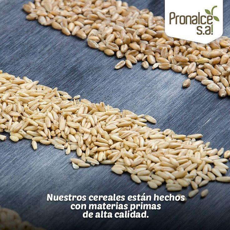 Los #CerealesPronalce están hechos con materias primas de alta calidad. Cuidadosamente cultivadas y seleccionadas para ofrecer a nuestros clientes lo mejor.    #Pronalce #Avena #Wheat #Trigo #Cereal #Granola #Fit #Oats #ComidaSaludable #Yummy #Delicious #Tasty #Instagood #Delicioso #Sano #HealthyFood #Breakfast #Protein #Nutrición #Cereales