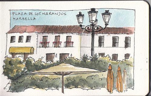 Plaza de los Naranjos - Raul Leon
