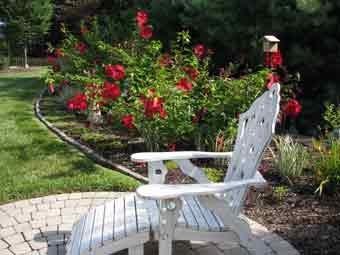 memorial garden idea