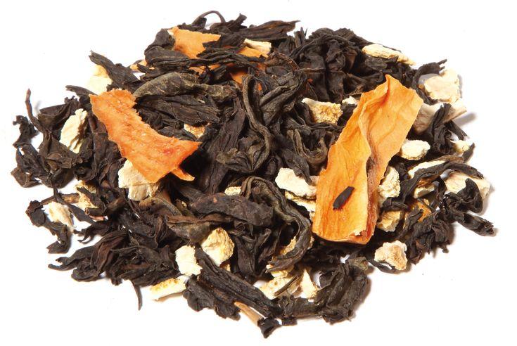 Oolong Tee, Orangenschalen, Mangostücke, natürliches Aroma. Ein leckerer Kompromiss zwischen grünem und schwarzem Tee. #Oolong #Tea #Tee