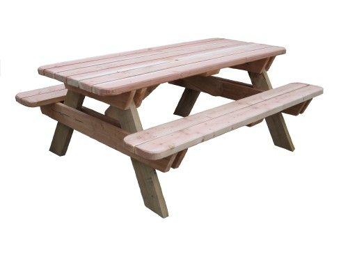 table foresti re table bois chataignier douglas ameublement meuble jardin terrasse manger nant. Black Bedroom Furniture Sets. Home Design Ideas