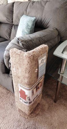 Kool Kitty Furniture Protector Scratcher (Brown Carpet Version) $79?!!!! -Just build it wood scrap and scrap carpet