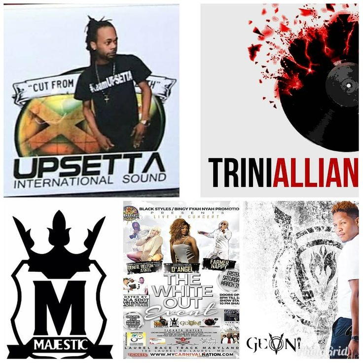 """De Origin@list"" .. DJ's for #WhiteOut  @stokageneral  @itsdjmajestic  @trinialliancesound  @geovonithp  Get your TICKETS @ WWW.MYCARNIVALNATION.COM .. or #WestIndianFlavor #Bmore #CrownBakery #Dc .. #Caribbean  #WeInDatCauseDatInWe  #WearWhite  #Baltimore #Philly #DMV #NewYork"