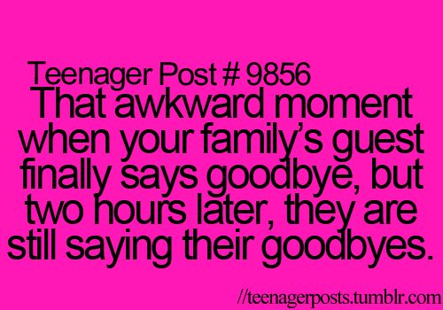 this perfectly describes my family and my stepdad always judges us for it.