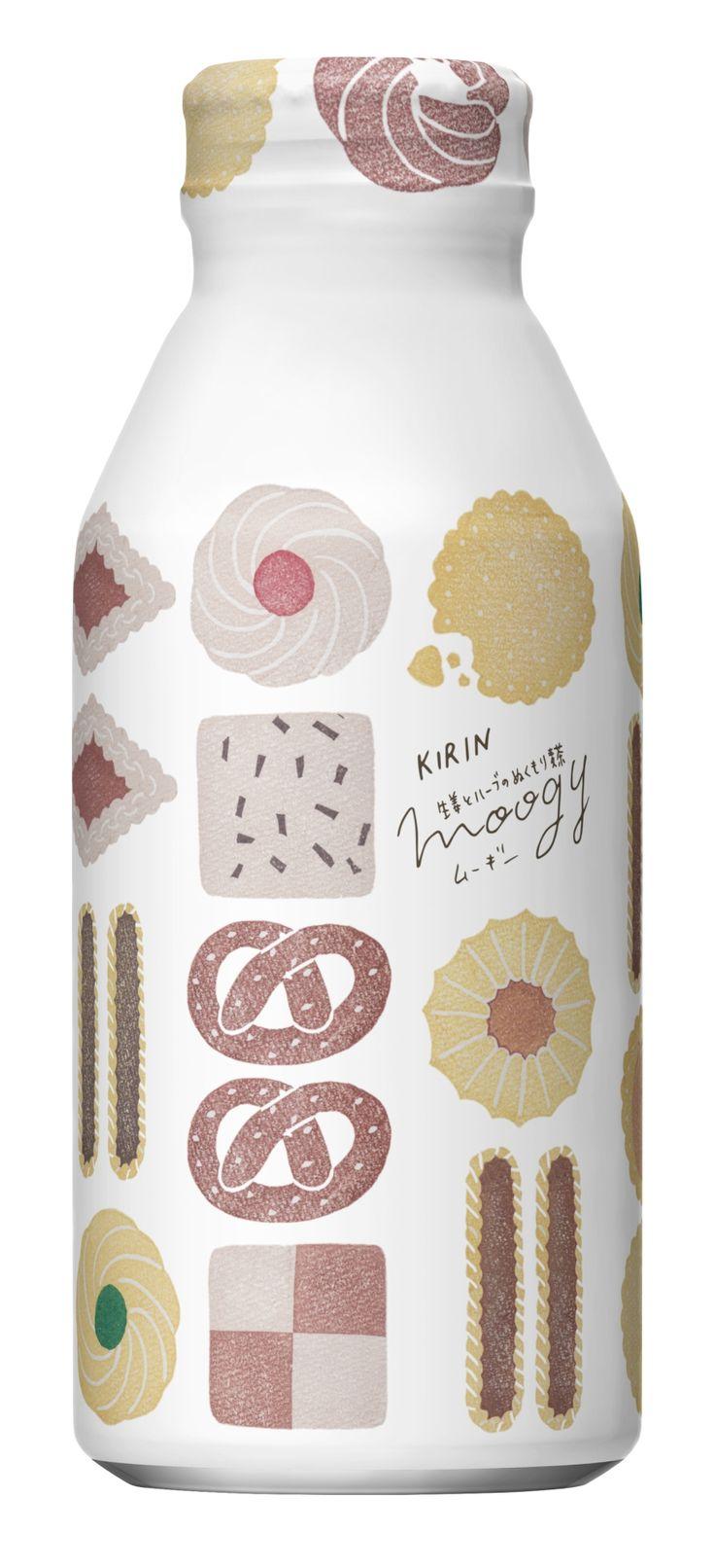 生姜とハーブのぬくもり麦茶 moogy 「くいしんぼうの秋」パッケージデザイン(Autumn&Winter collection 2017)