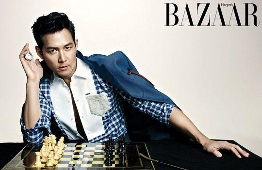 Lee Jung-jae // Harper's Bazaar Korea // September 2013