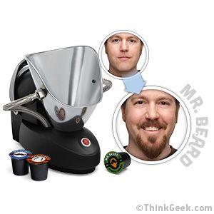 Who needs to endure that awkward in between period when you can have the  ThinkGeek :: Mr. Beard® Beard Machine.  (hehe)