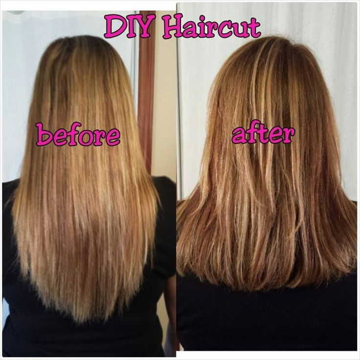 Easy How to: Cut Your Own Hair in Layers