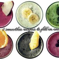 6+1 smoothie συνταγές για να σε γεμίσουν ενέργεια! - Beauty-Secrets.Gr