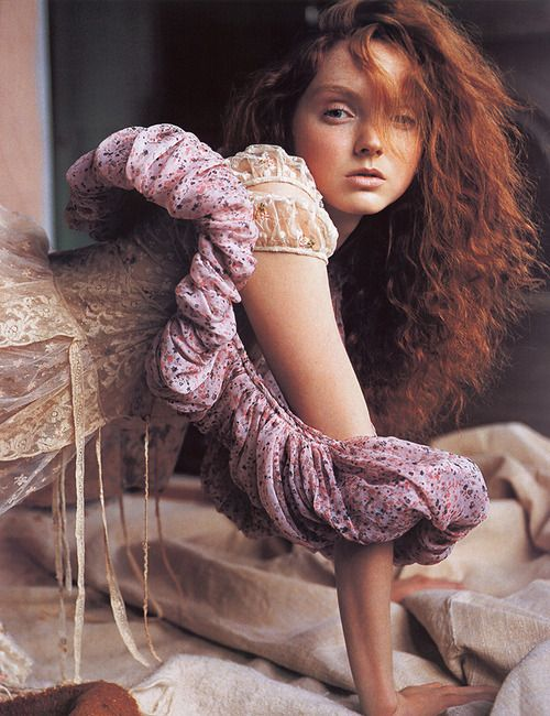 Lily Cole by Carter Smith