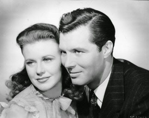 "Vintage Glamour Girls: Ginger Rogers & James Craig in "" Kitty Foyle """
