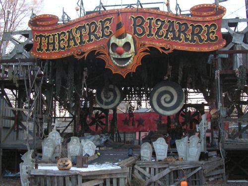 Potential Haunt Theme Plus Cool Gravestones Halloween