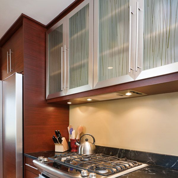 Convert Kitchen Cabinet Doors Glass Inserts: Resin Panels For A Sliding Door