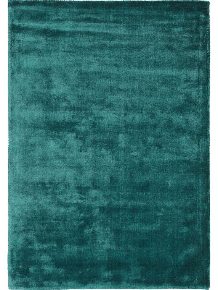 Zart wie Seide: Der benuta Teppich Donna Viscose verschönert jedes Wohnzimmer mit seiner glänzenden Optik #benuta #teppich #modern #interior #rug