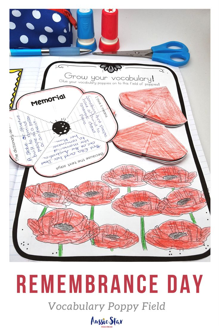 Commemorate Remembrance Day with your upper primary students with this highly engaging and hands on activity pack. It features seven activities including a unique reading comprehension text and flip book, vocabulary and poetry analysis and persuasive writing activities. This pack has been designed to align with the Australian Curriculum and is the ideal teaching resource for your upper primary students. Check it out in our store now.