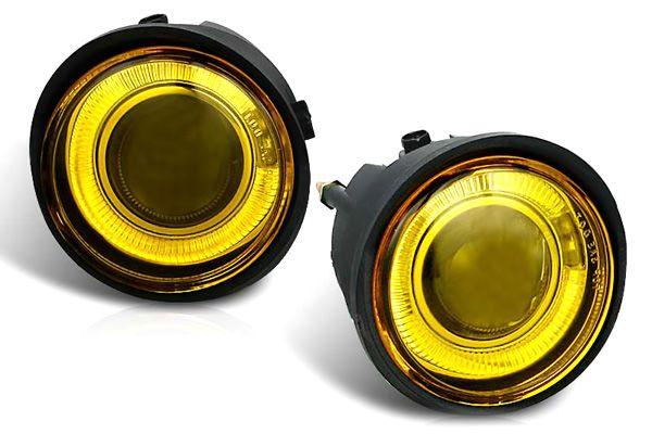 Infiniti Fx35 2003-2005 Yellow Halo Projector Fog Lights