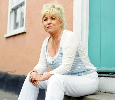 Barbara Windsor (1937-) English actress best known for her roles in the Carry On films and East Enders