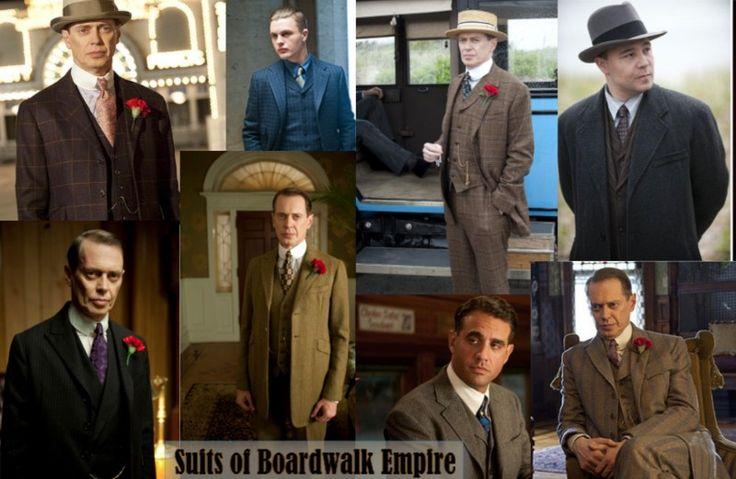 1920's Mens Suits of Boardwalk Empire The Suit: 1920s Mens Fashion History: http://www.vintagedancer.com/1920s/1920s-mens-fashion-the-suit/