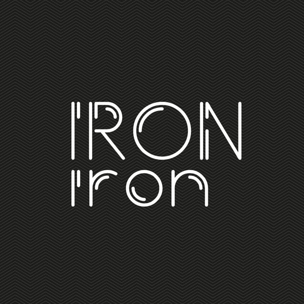 Iron Typeface by Bayley Design, via Behance